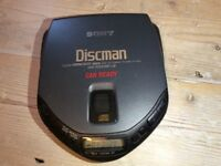 VINTAGE / COLLECTIBLE SONY DISCMAN D - 172CK