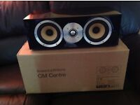 B&W CM Centre Speaker (polished ebony)