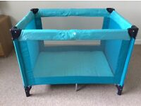 Koochi Travel Cot - used only a handful of times