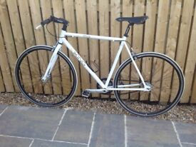 Gents Viking White Racing Urban bike