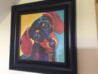 Dachshund print for sale  Castlerock, County Londonderry