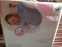 Sleepcurve cotbed mattress, prevents flat head syndrome age fm 0-2 years Belfast, Lisburn