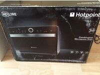 Hot point combination microwave oven and grill