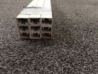 Plastic trunking 25mm x 16 mm x 1m non self adhesive