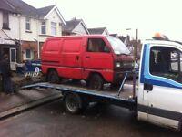 Top price paid for scrap cars / vans