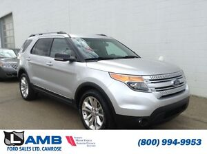 2012 Ford Explorer 4WD 202A XLT Leather Moonroof Trailer tow pac