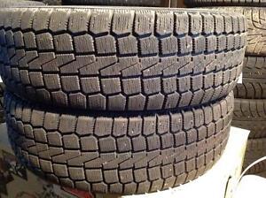 2 pneus d'hiver 185/70 r14 Yokohama k2 f720.   70$