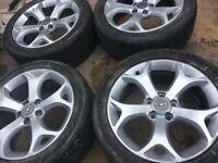 """17"""" Vauxhall VXR Alloys"""