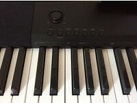 Casio CDP120 Digital Piano With Double Braced X-Stand, Sustain Pedal & Power Adaptor