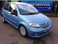 CITREON C3 AUTOMATIC EXCELLENT CONDITION SERVICE HISTORY LOW MILES FULL YEARS MOT SPARE KEY BARGAIN