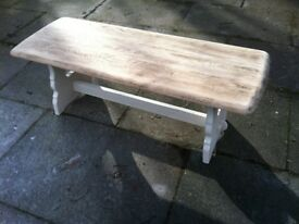 ERCOL STYLE COFFEE TABLE -poss shabby chic-vintage