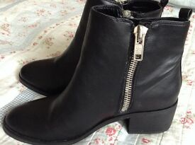 Next leather ankle boots