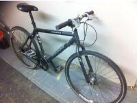 "Ridgeback Nemesis MD 19"" Hybrid Bike (beautiful) RRP 600£"