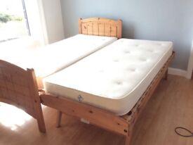 Marks & Spencer wooden hideaway bed