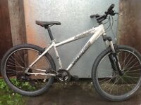 Specialized hardrock men's hardtail mountain bike, in good order