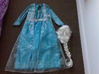 Elsa dressing up costume