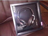 AKG K550 MKII - Closed Back Over-Ear Headphones (Black)