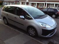 Citroen c4 Picasso diesel automatic (7 seater)
