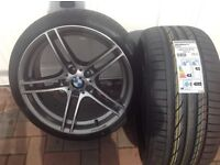 BMW 313 alloy+2 new tyres