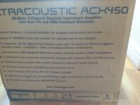 Behringer Acoustic ACX450 Amplifier.As new .