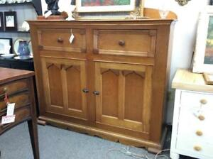 1800's Antique Cherry and Butternut Cabinet