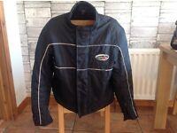 Used motorcycle jacket. Suzuki Yamaha Kawasaki Honda