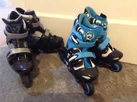 """No Fear "" Kids Inline Skates"