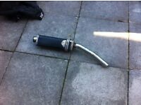 REAR CAN EXHAUST beowolf black