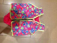 Girls Speedo sea squad float vest/swimming float