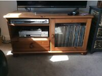 Pine Coffee Table, TV stand and CD cabinet
