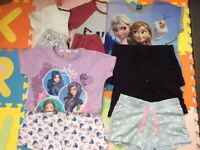 Girls Pyjamas x10 items age 9-10 year old included Next and Disney