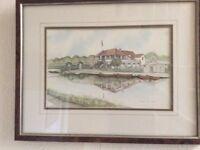 Print of Belfast Boat club