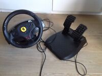 Thrustmaster Racing Wheel and Pedals for PC