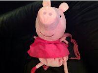 Peppa pig back pack