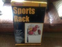 Metal Sports Rack Brand New