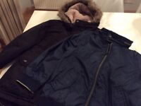 Two ted baker boys jackets age 8and 9