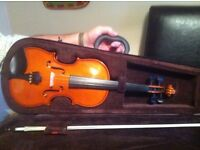 3/4 violin case and now