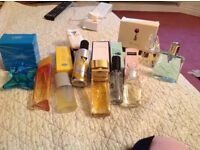 Avon perfumes 9 bottles all are full some have boxes £35