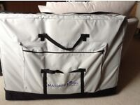 3- Section Portable Massage Table with Carry Case