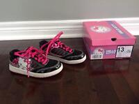 HELLO KITTY SNEAKERS - GIRLS SIZE 13