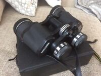 Binoculars for sale.miranda 8x40 coated optics,wide angle 157mts at 1000mts.as new in travel case.