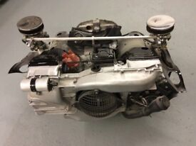 VW T2 camper engine