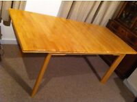 Solid Wood Extendable Dining Table and 4 Chairs + Free delivery