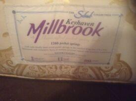 "Single bed ""millbrook"", spotless £95.00"