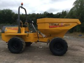 Benford Terex PS 6000 Forward tipping Power Swivel Dumper