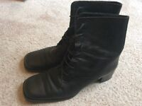Next Lace up boots, good used condition, size 8.