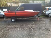 Speed Boat For Sale or Swap MUST GO BY MONDAY