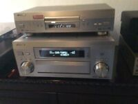 Pioneer 5i amplifier and 868 DVD player .