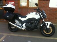 Honda NC700 SA-C , just 6,517 miles from new ,Expensive Givi Luggage with 12 months MOT £3.995