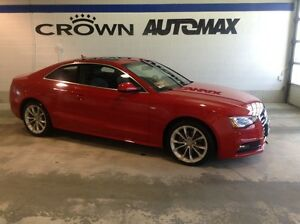 2015 Audi A5 S-LINE *ROOF/ PADDLE SHIFT/ TURBO*